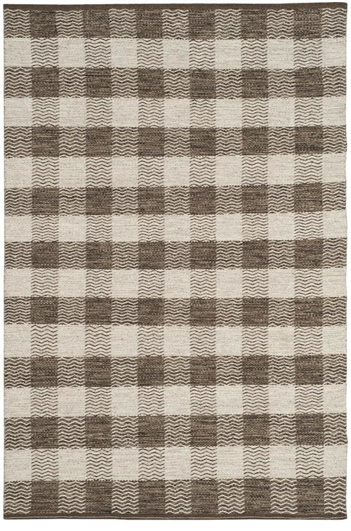 Safavieh Kilim KLM351A Area Rug, Light Grey/Brown, 8'x10' Rectangle