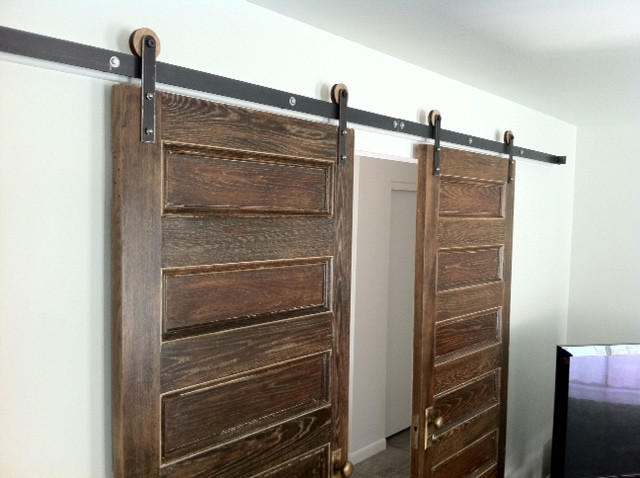 Modern Barn Door Hardware Salt Lake City By Rustica Hardware