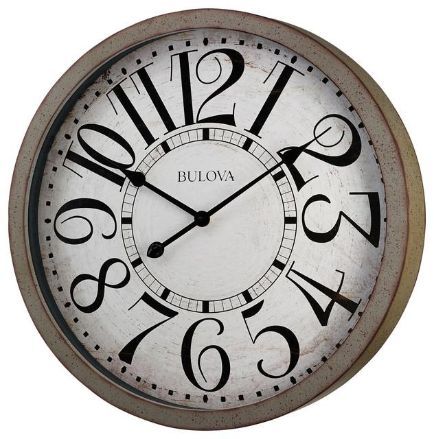 Westwood Clock Rustic Wall Clocks By Bulova