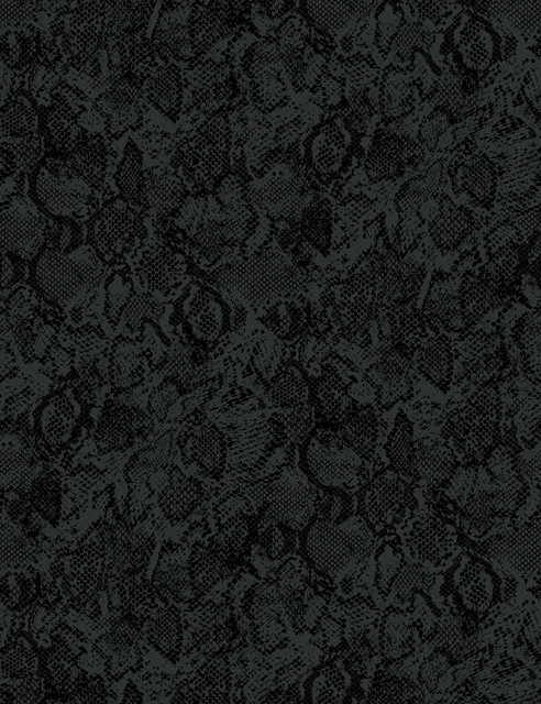 Serpentine Removable Wallpaper, Charcoal, Removable Panel.