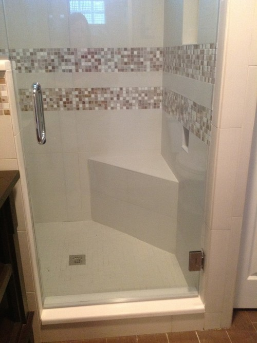 Mini Shower Stall - Marble Bathrooms With Bathtub Or Shower Stall ...