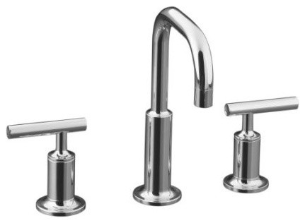 Kohler KOHLER K 14406 4 Purist Widespread Faucet Bathroom Sink Faucets Houzz