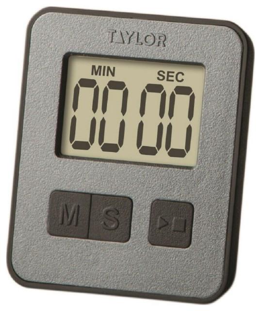 Taylor 5842N15 Digital Slim Timer, Grey