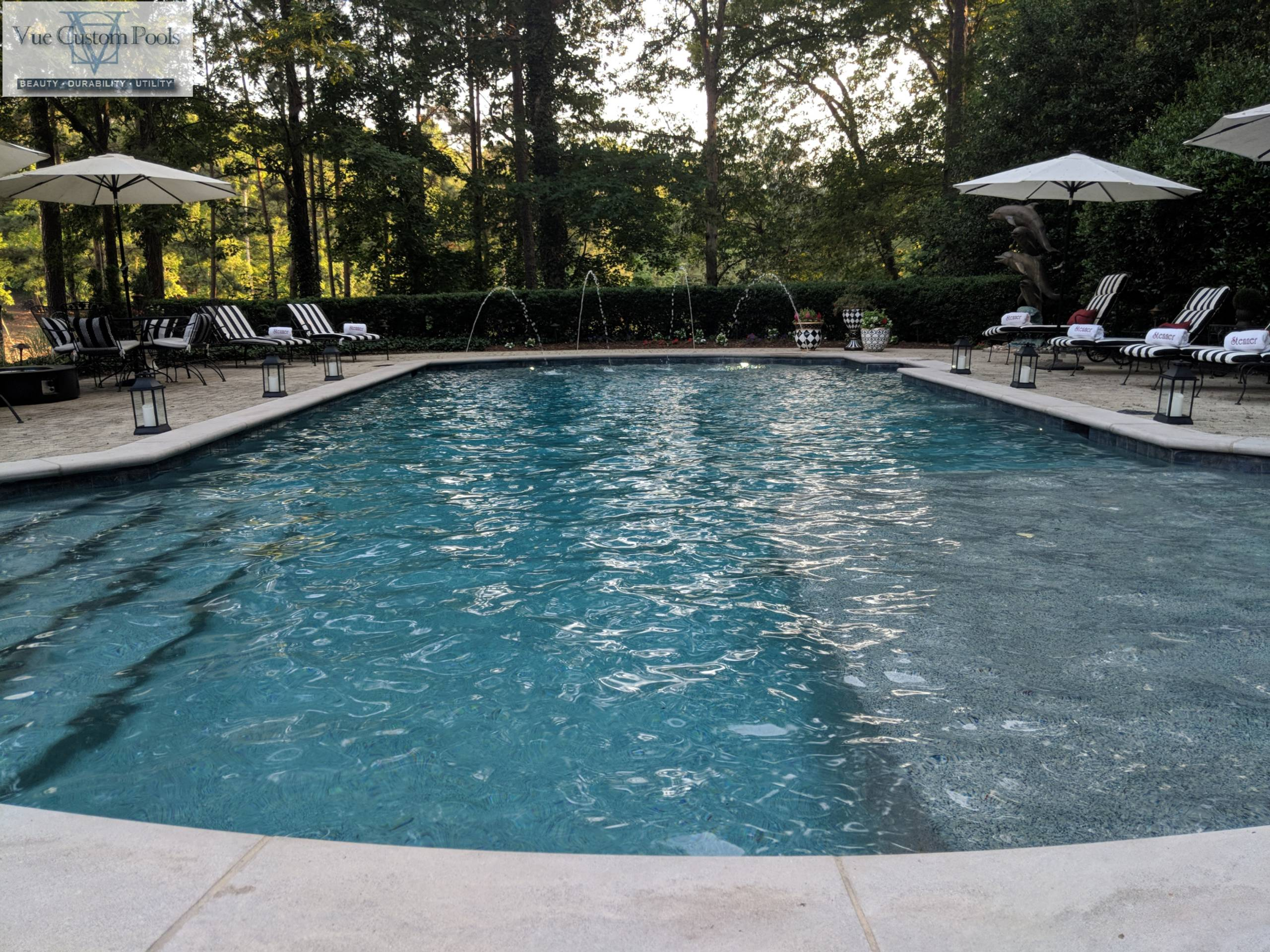 Renovation to bring a old pool new life in Chapel Hill