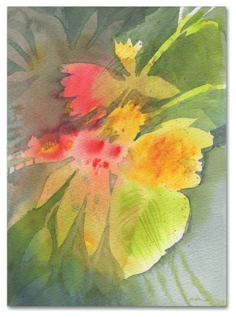 Sheila Golden &x27;through Darkness Brightly&x27; Canvas Art, 24x18.