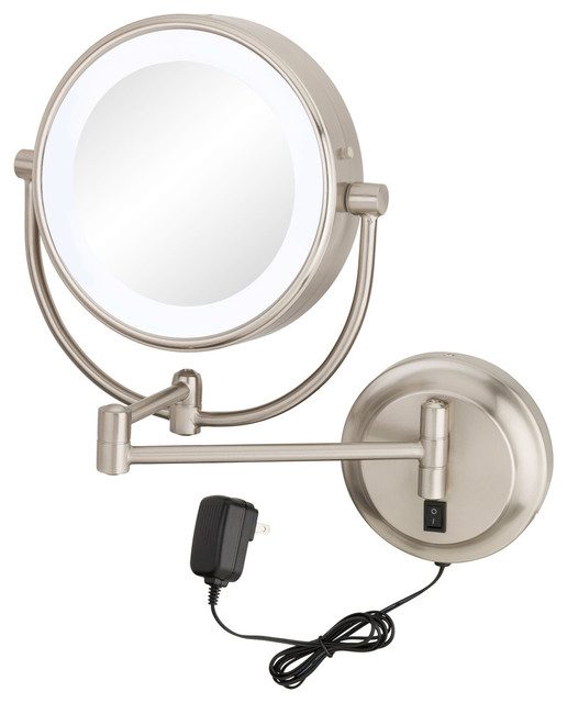 Aptations - Neomodern LED Lighted Wall Mirror Hardwired - View in Your Room! | Houzz