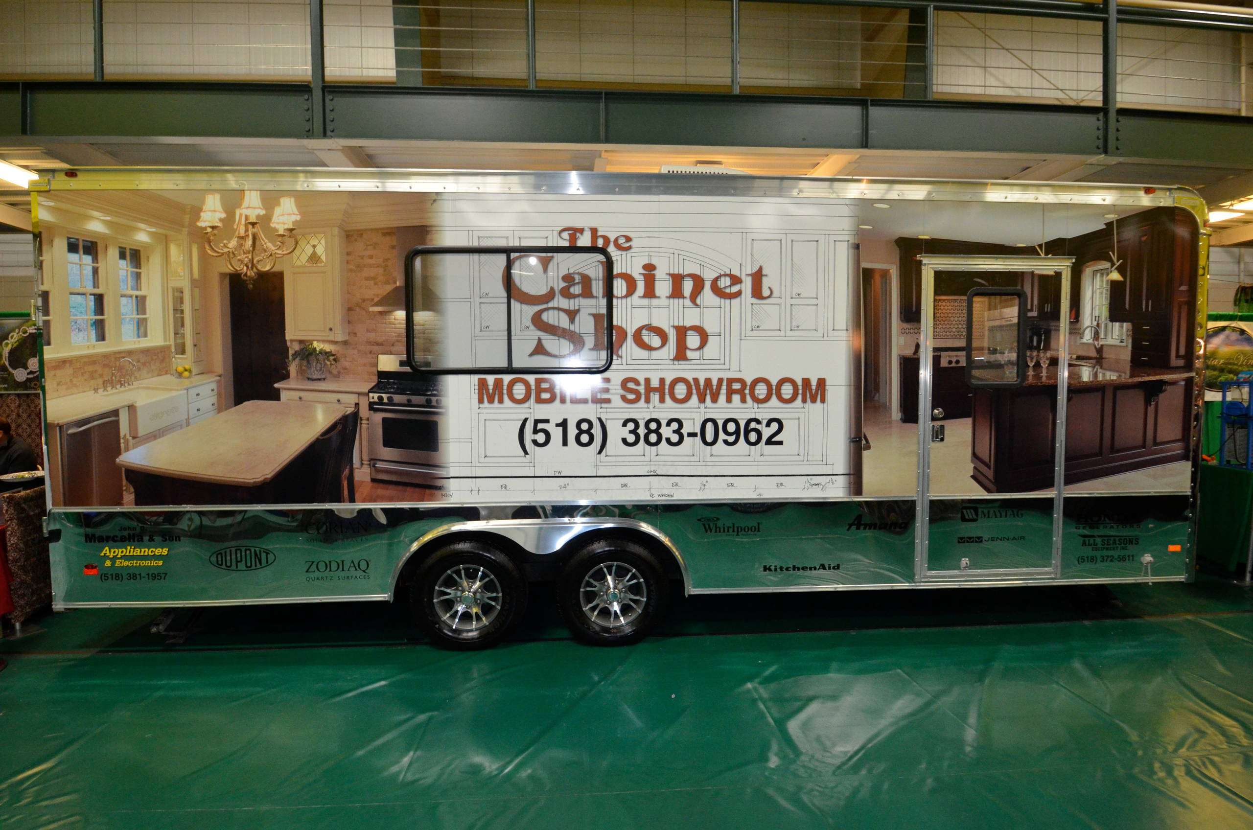 The Cabinet Shop Mobile Showroom