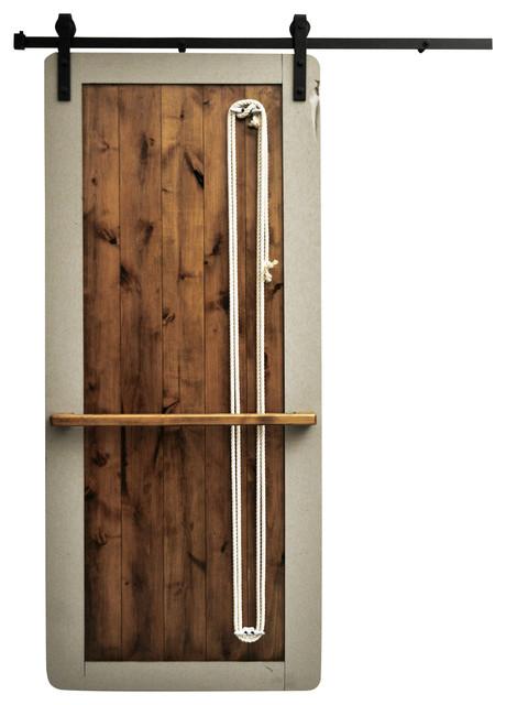 Shop houzz dogberry collections barn door wood for 48 inch barn door