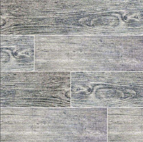 Sonoma Driftwood Gray 6x24 Porcelain Wood Look Tile Matte Finish Traditional Wall And