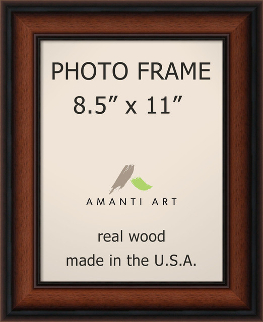 Picture Photo Frame 85x11 Bella Noce Walnut Outer Size 12x14