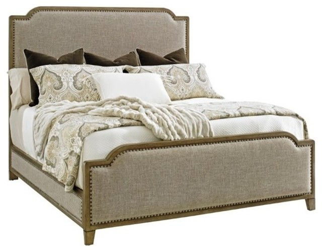 Stone Harbour Upholstered Bed 6/0 California King.