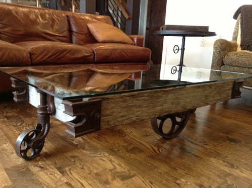 Hi What Is The Price Of This Coffee Cart Table With Glass Top