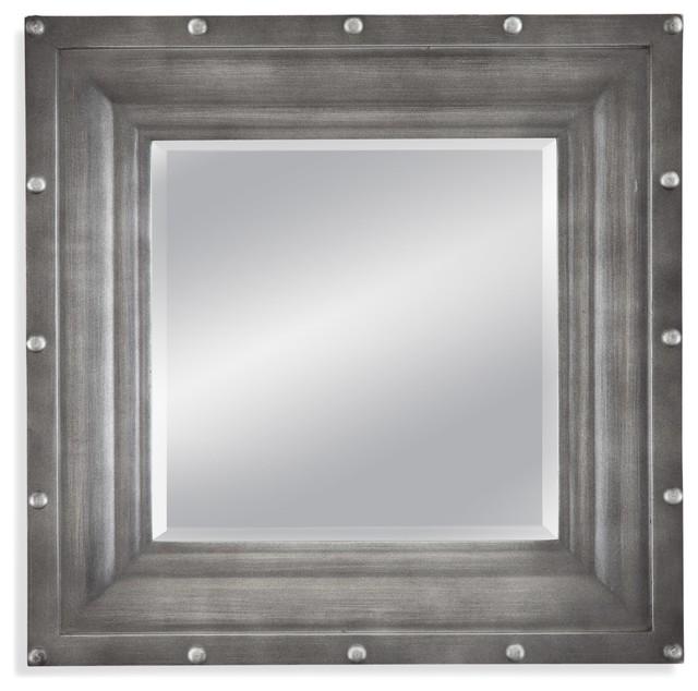 Industrial Wall Mirror dayton wall mirror - industrial - wall mirrors -bassett mirror co.