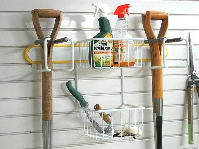 Lawn and Garden Rack Storage Kit