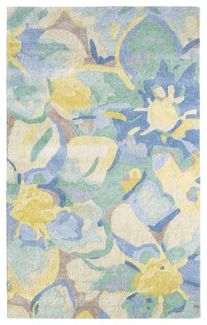 Company C Blue Poppies 10200 Rug