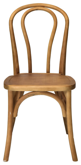 Sonoma Bentwood Stackable Chair, Tinted Raw.
