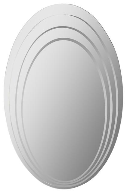Hanna Modern Bathroom Mirror.
