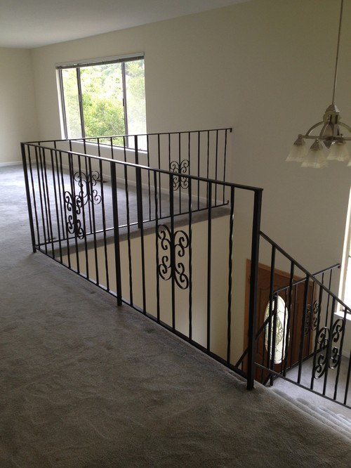 Good Replacing Stair Railing