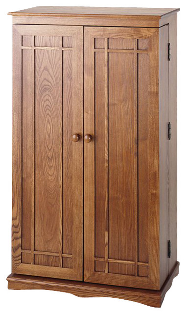 CD-612 Classic Mission Doors - Craftsman - Media Cabinets - by ...