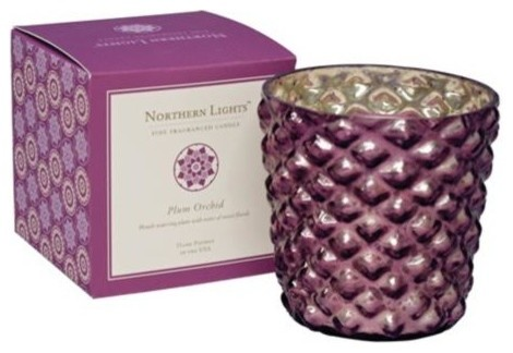 Jubilee Fine Fragranced Plum Orchid Candle