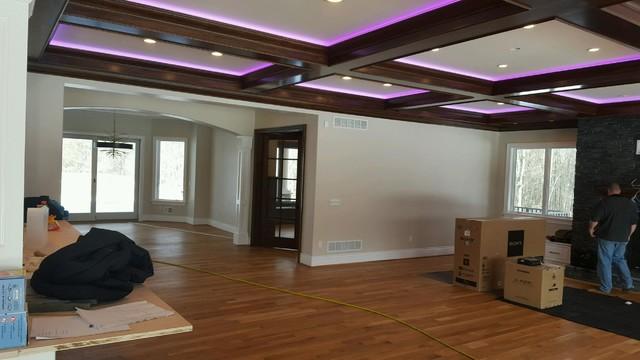 Hardwood living-room