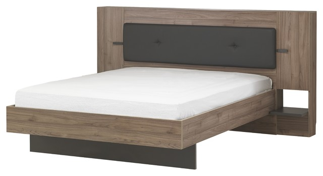 Victoria Panel Bed, Euro King