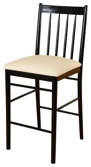 Awesome Fantasia Bar Stool Black White Evergreenethics Interior Chair Design Evergreenethicsorg