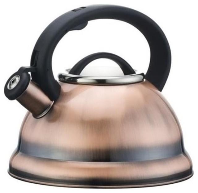Aramco alpine cuisine 2 8l stainless steel tea kettle for Alpine cuisine coffee cups