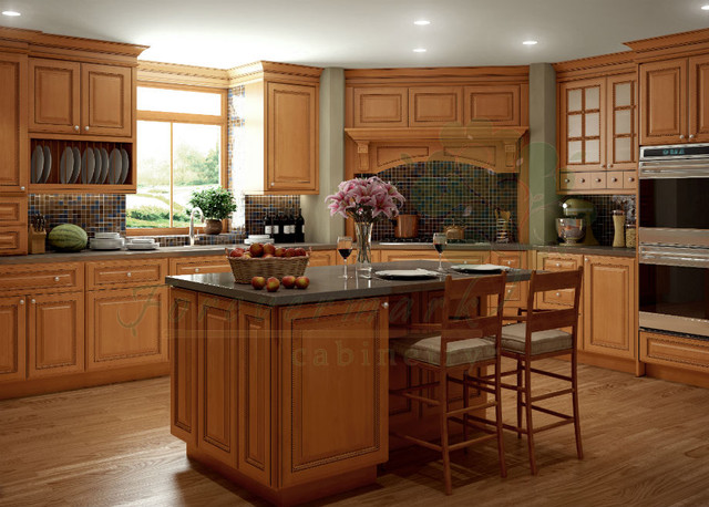 ... Kitchen Cabinets | Sandstone Rope Door | Kitchen Cabinet Kings kitchen