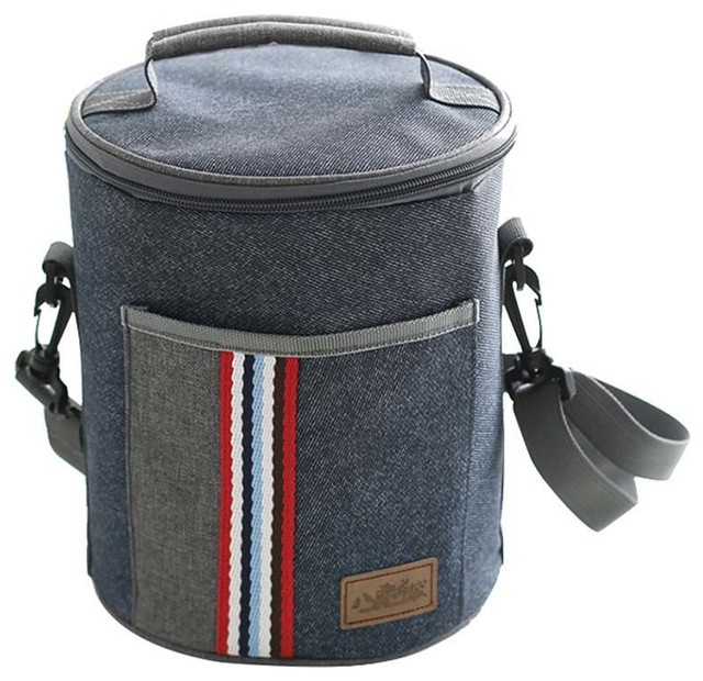 NEW TRUDEAU FUEL INSULATED LUNCH COOLER BAG Box Carry Tote Men Women Child