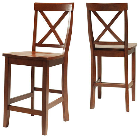 back bar stools set of 2 contemporary bar stools and counter