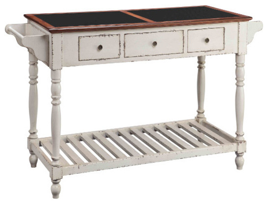 Northrup 3-Drawer Kitchen Island.