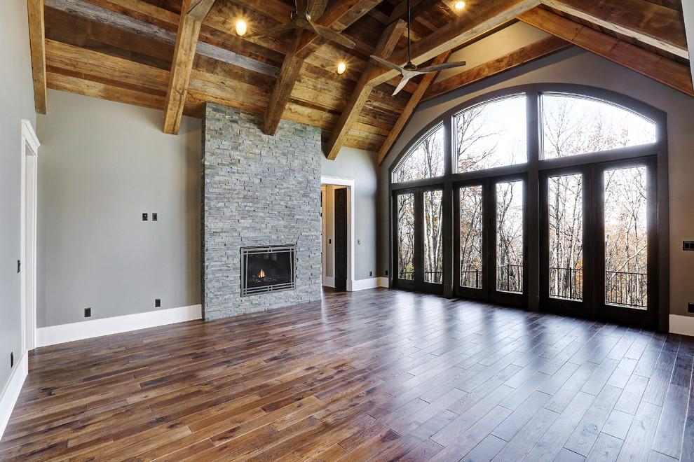 Mountaintop dream home