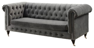Liza Sofa, Slate Gray