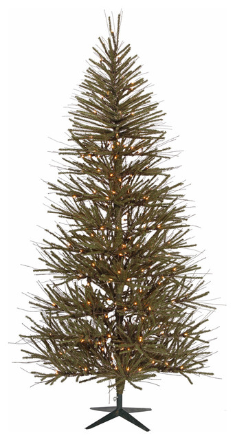 pre lit vienna twig artificial christmas tree clear lights 3 - Rustic Artificial Christmas Tree