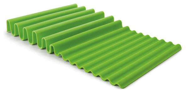 Fusionbrands Waverack Dish Drying Rack, Green ...