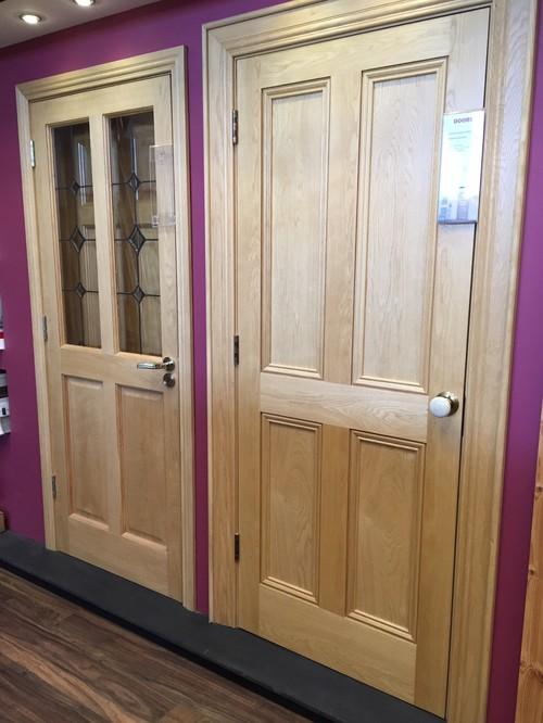 Internal Doors   Oak Or Walnut