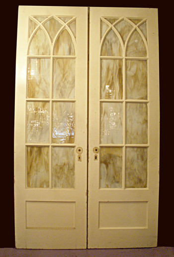 Superbe Gothic Style French Doors
