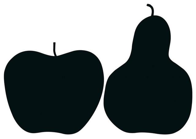 Danese Milano By Enzo Mari, La Mela E La Pera, The Apple And The Pear Poster.