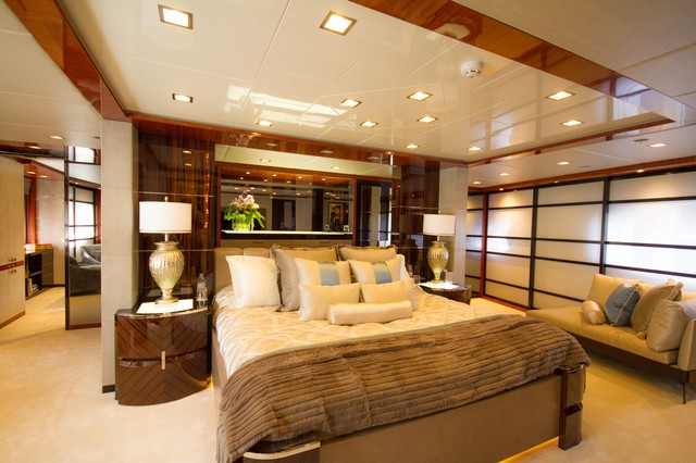 Super Yacht Interior Decor Traditional Bedroom