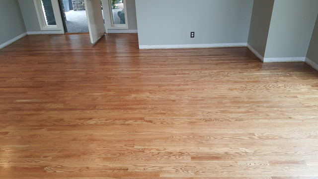 Red Oak Wood Flooring Nutmeg Duraseal Stain Boise By
