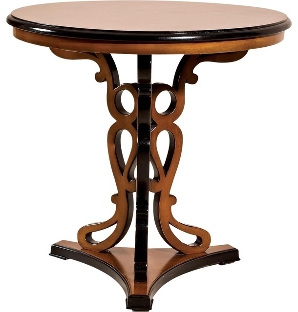 Black Round Lamp Table Best Inspiration For Table Lamp
