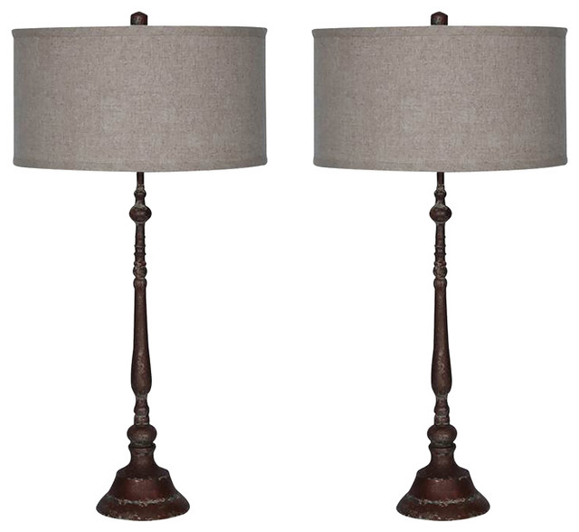 Copper edison metal table lamp 303x15 set of 2 traditional copper edison metal table lamp 303x15 set of 2 traditional mozeypictures Image collections