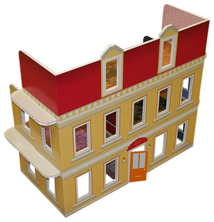 FunDeco Dollhouse - Contemporary - Kids Toys And Games - by FunDeco LLC.