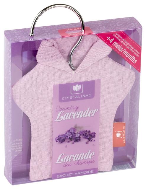 Cristalinas Sachet Closet Air Freshener, Lavender Industrial Fabric