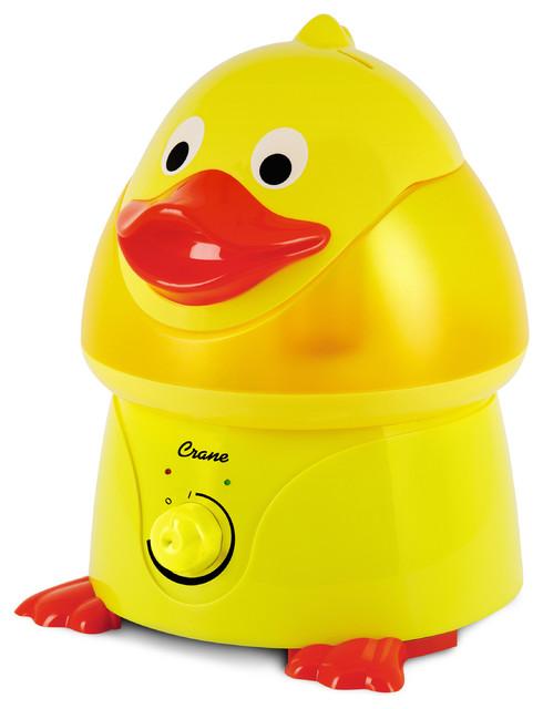Crane Adorable Ultrasonic Cool Mist Humidifier, Duck.