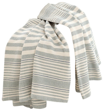 Dash albert rug company dash and albert rugby stripe for Dash and albert blankets