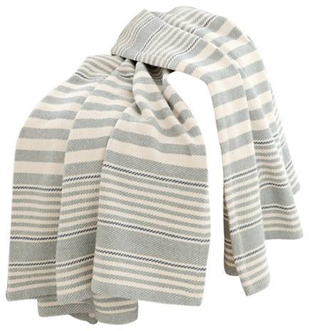Dash albert rug company dash and albert rugby stripe for Dash and albert blanket