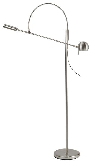 Adesso Director Floor Lamp, Natural