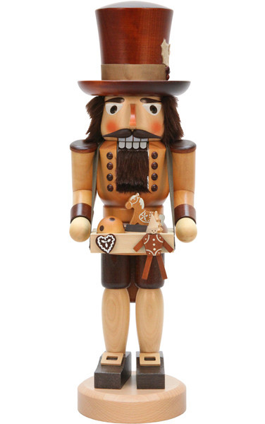 Christian Ulbricht Nutcracker, Toy Trader (Natural)